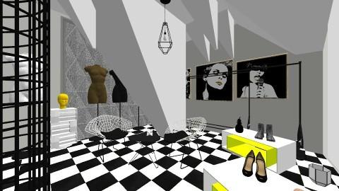 Shop Interior - by jennyrose12