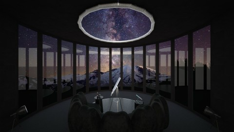 Dark Room - Modern - Living room  - by Tuubz