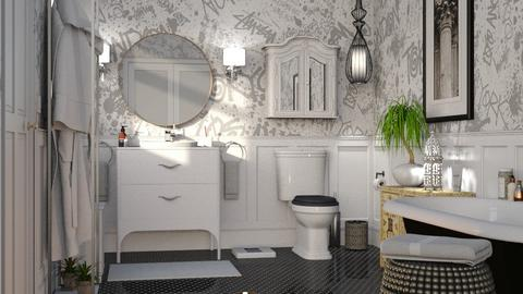 Eclectic Bathroom - Bathroom  - by GraceKathryn