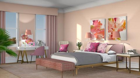 524 - Feminine - Bedroom  - by Claudia Correia