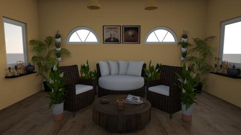 coffee - Living room - by canelita