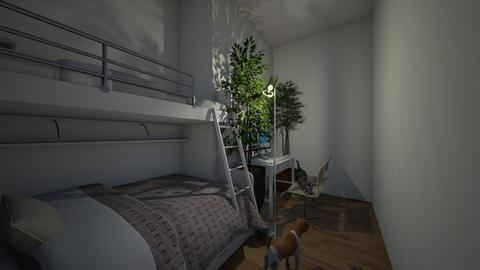 Twin Moden Bedroom - Bedroom  - by SaraL4472