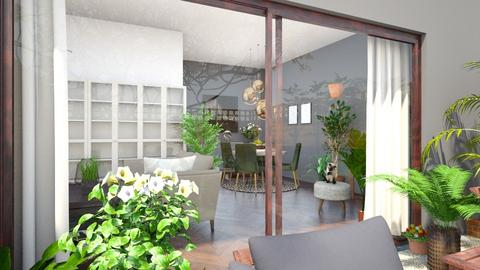 Modern Natural - Modern - Living room - by Maja06