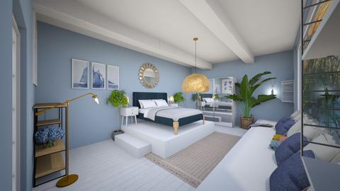 summer bedroom - Bedroom  - by mimiclara