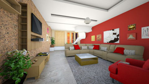 Room M - Modern - Living room - by Mi Hipolito
