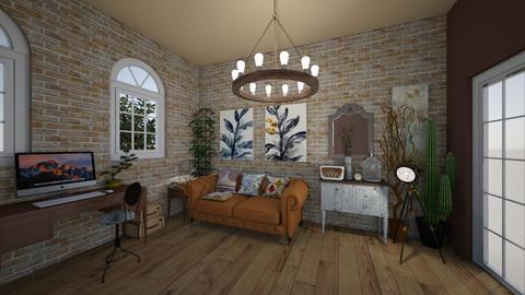 vintage 2 - Living room - by GeGe Kanthip