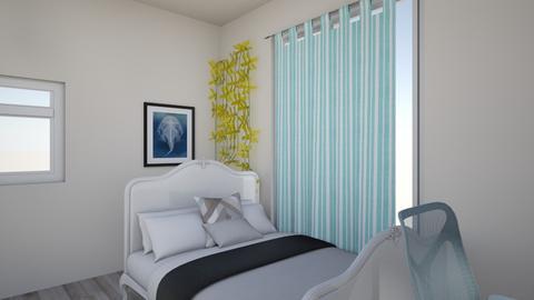 juliets real room - Bedroom  - by Juliet Centeno