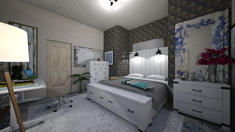 beachhouse bedroom - Modern - Bedroom  - by summeja