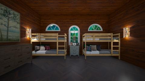 Cottage Retreat - Minimal - Bedroom  - by BaylorBear