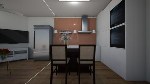 miniapartment301 - Kitchen  - by Architectdreams