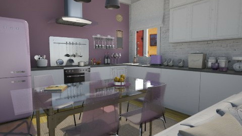 Purple things - Kitchen  - by Thrud45