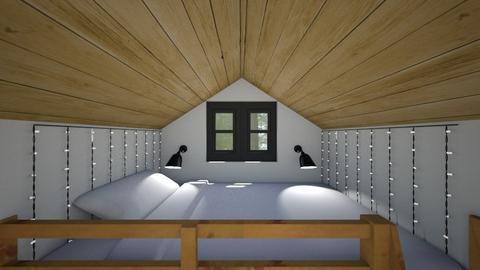 Tiny Loft - Bedroom  - by SammyJPili