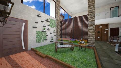 Casa Bela - Glamour - Garden  - by Mariesse Paim