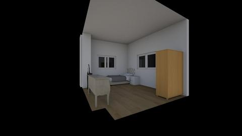 habitacion  - Minimal - Living room  - by guiomar007
