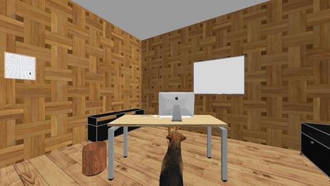 dog office - Modern - Office  - by 01nj252417