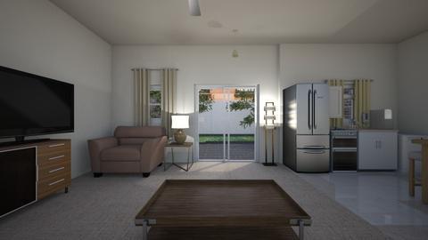 Studio Loft - Living room  - by mspence03