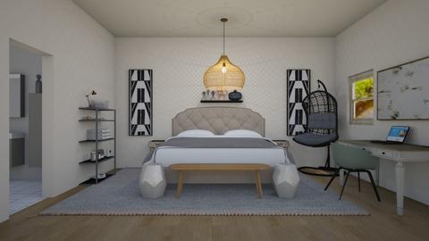 Bedroom - Modern - Bedroom  - by Itsavannah