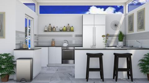 Summer Kitchen - Modern - Kitchen  - by millerfam