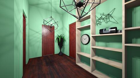 Modern Hallway - Modern - by dreamer57