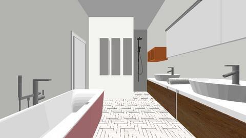 Badkamer 2 nieuw - Bathroom  - by iene