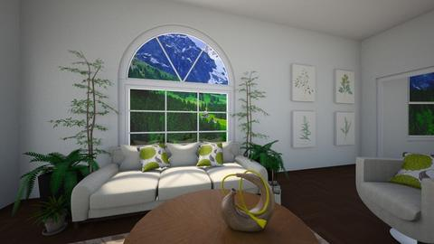 Plain Nature - Living room - by CosmicDesigns