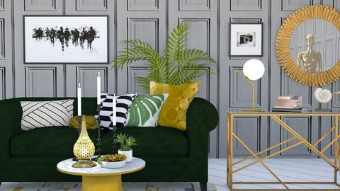 sophisticated living room - Modern - Living room - by rimanina