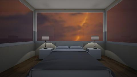 stormy day - Bedroom  - by madaline