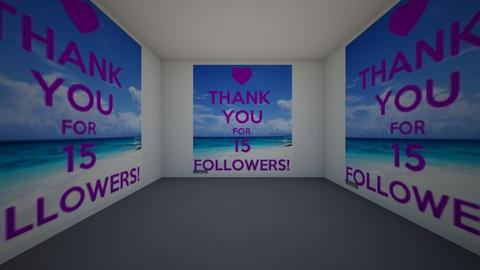 thanks for 15 followers - by KathyScott