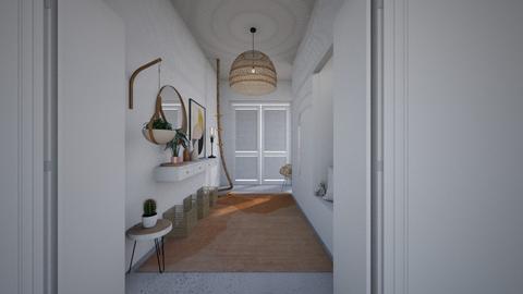 earthy hallway - Modern - by StienAerts