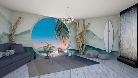 Seaside Sanctuary - Living room  - by seasidestarfish