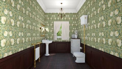 No 4 - Vintage - Bathroom - by asiak4