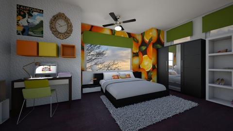 Orange Room - by manicpop