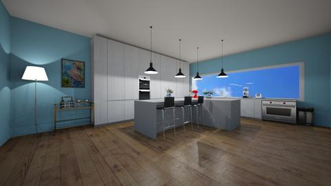 modern kitchen - Modern - Kitchen  - by 29catsRcool