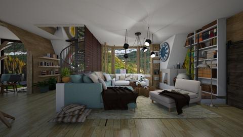 LIVING ROOM - Living room - by Eleni Irini