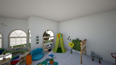 harmadik - Kids room  - by zitakocsnevajai