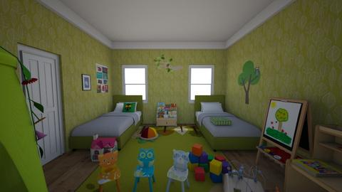 Forest Kids Room - Classic - Kids room  - by Sophia Cooper