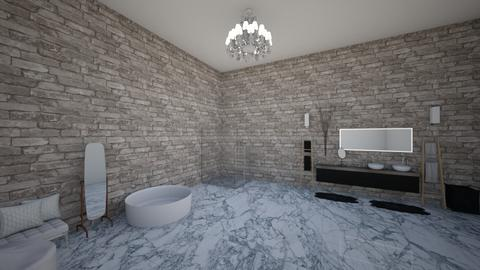 Modern Bathroom - Modern - Bathroom  - by stokeshannah