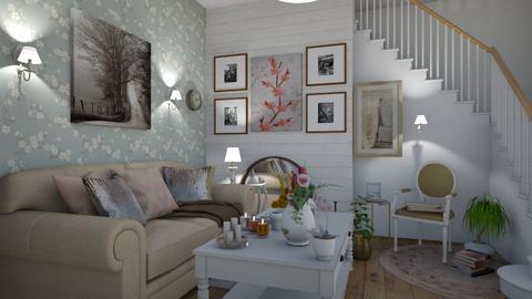 Shabby Chic Living Room - Living room - by elenatsempeli