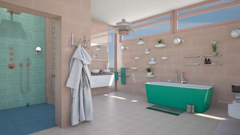 mid century bathroom - Modern - Bathroom  - by kitty