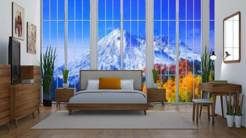 Fall Retreat - Modern - Bedroom  - by millerfam