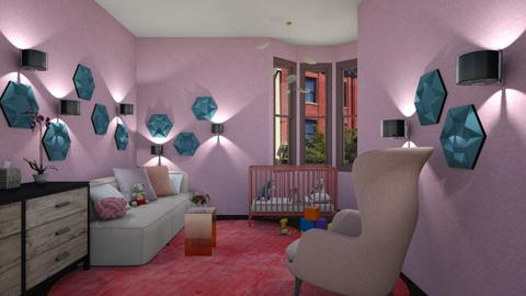 Pretty Pink - Modern - Kids room  - by 3rdfloor