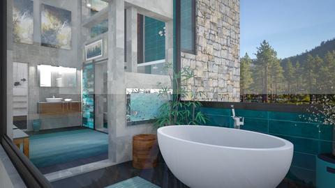AV MasterBath 2 - Bathroom  - by Amyz625