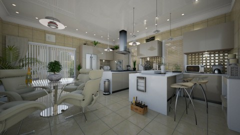 Meringue - Modern - Kitchen  - by Lackew