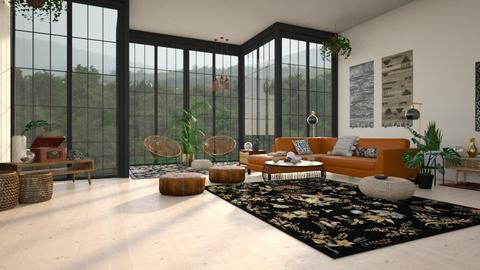 the zen place - Eclectic - Living room  - by YourSisterTho