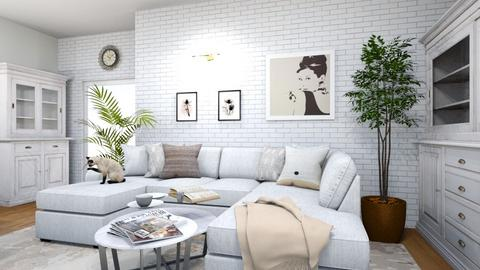 salon - Classic - Living room  - by w_ziarkiewicz