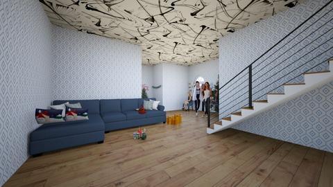 BEST ROOM EVER - Living room  - by mcantorianobgcs1234
