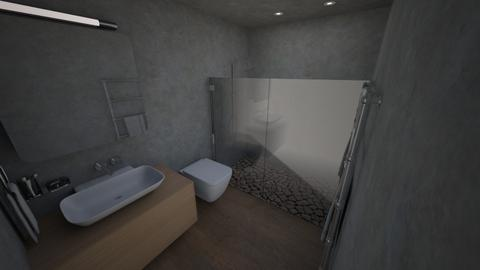 florida bath final - Bathroom  - by louchette