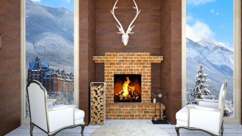 Escape 2 Banff  - Rustic - Living room  - by lanaiahubbard