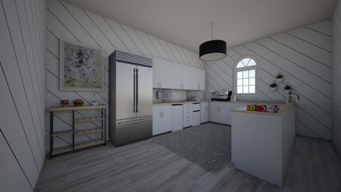 Large kitchen - Modern - Kitchen  - by BrnMstfKml