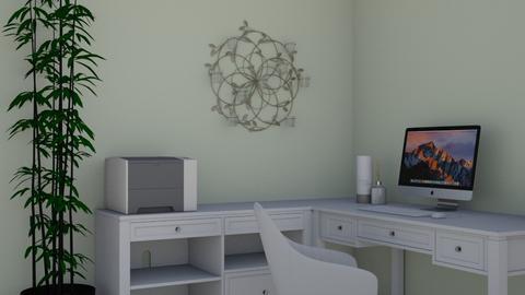 White Office - Modern - Office  - by 29catsRcool